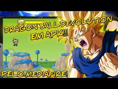 SAIU! DRAGON BALL DEVOLUTION EM APK PELO MEDIAFIRE!