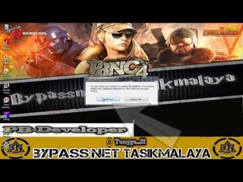 Tutorial instalasi Game  PointBlank Offline Bypassnet-Tasikmalaya