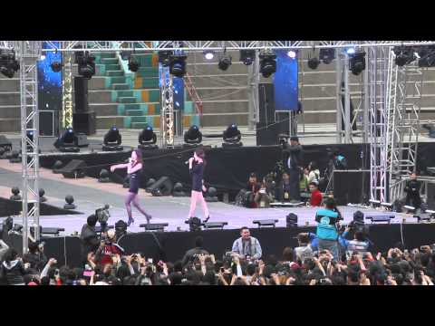 130921 Davichi - Love and War Live HD in Ulaanbaatar, Mongolia