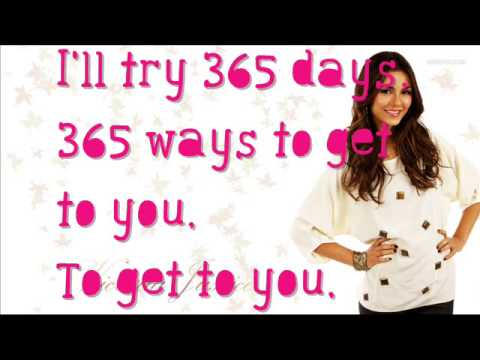 Victoria Justice Ft Leon Thomas  365 Days  Lyrics