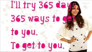 Victoria Justice Ft. Leon Thomas - 365 Days - Lyrics