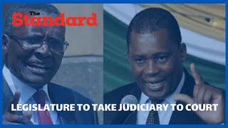 Speaker Muturi to proceed to the High Court to challenge CJ Maraga's call to Uhuru to dissolve parli