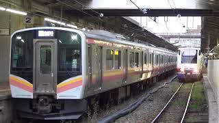 JR東日本E129系B2 普通長岡行(446M) 新潟発車