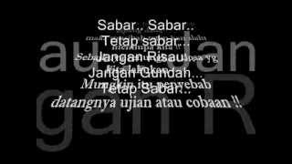 Download Lagu 8 BALL Ft. NINJA TURTLES - Sabar ( Lyric ) mp3