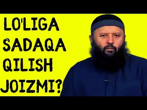 LO'LIGA SADAQA QILISH
