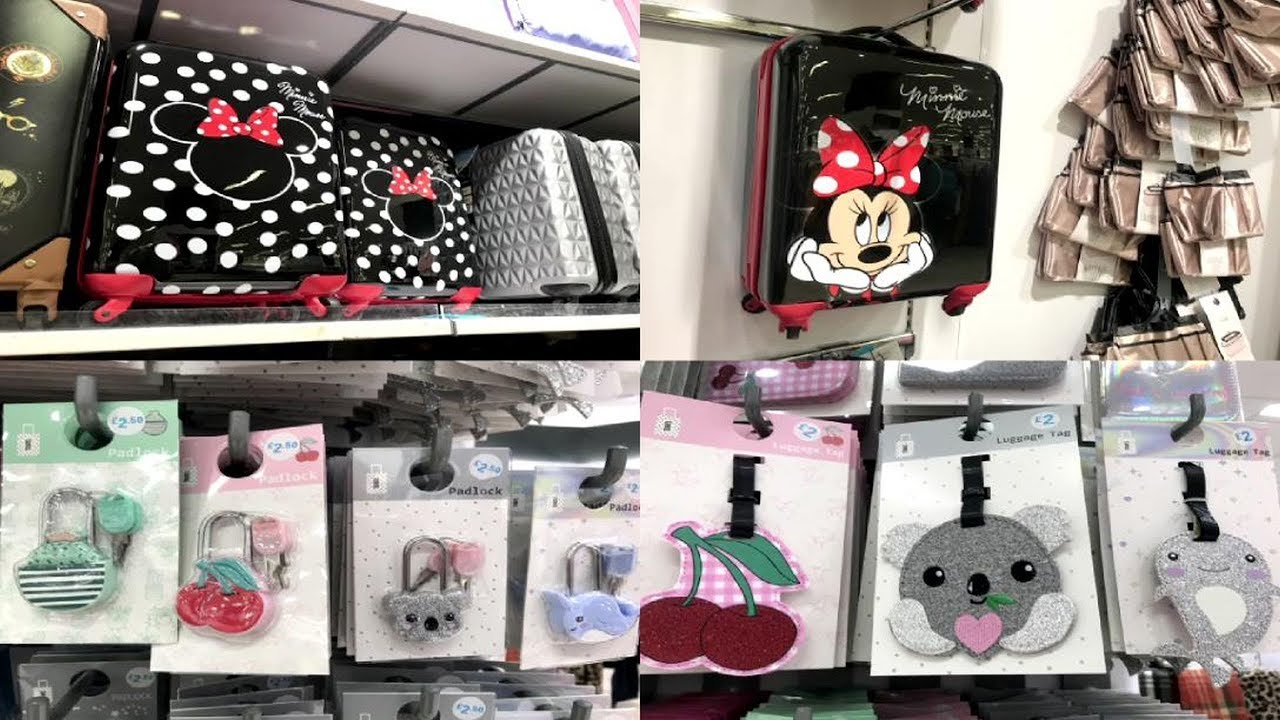 Primark Travel Accessories & Prices-February,2019