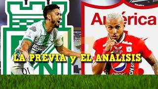 ATLETICO NACIONAL vs AMERICA DE CALI (2-2) Resumen y Goles HOY - Liga Betplay 2021