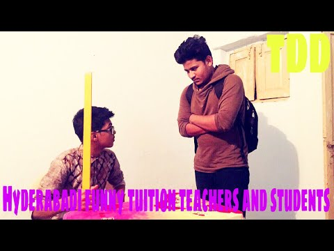 Funny Hyderabadi tuition teachers and students||funny video||The Deccan Diaries