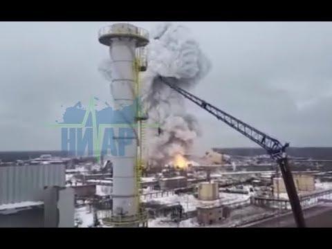 Взрыв на предприятии ООО «Полипласт Северо- запад»16.01.19