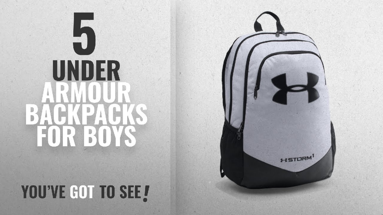 Under Armour Backpacks For Boys  2018 Best Sellers   Under Armour Boys  Storm  Scrimmage Backpack 09d177ec1861d