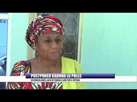 POSTPONED KADUNA LG POLLS: SIECOM BLAMES LACK OF ENABLE LAW FOR E-VOTING