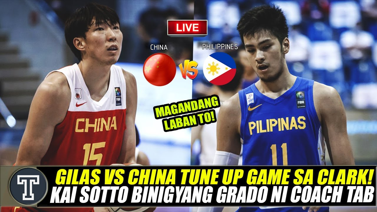 Download 🔴Update: Gilas Pilipinas vs China Tune Up Game 2021 Fiba Asia Cup Qualifier│Kai Sotto Update for QQT