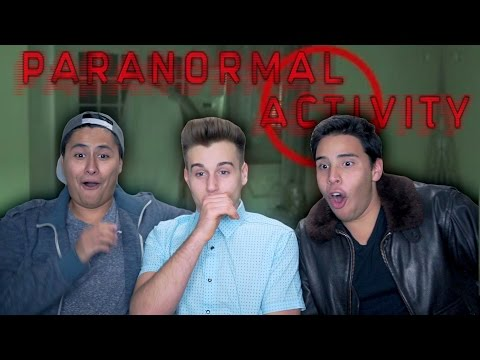 Reacting To Paranormal Activity Caught On Camera