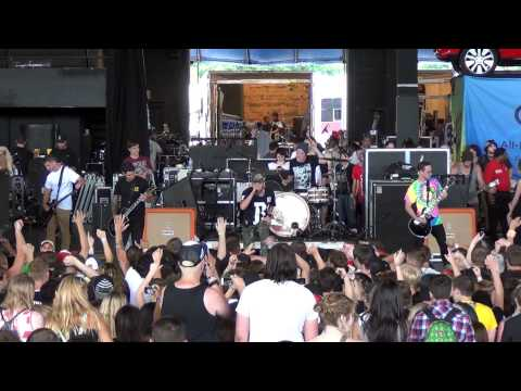 Woe, Is Me - A Story To Tell - Live at Warped Tour Milwaukee 2013