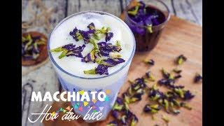 Macchiato hoa Đậu Biếc - Món mới của làng trà sữa - Rosa.edu.vn