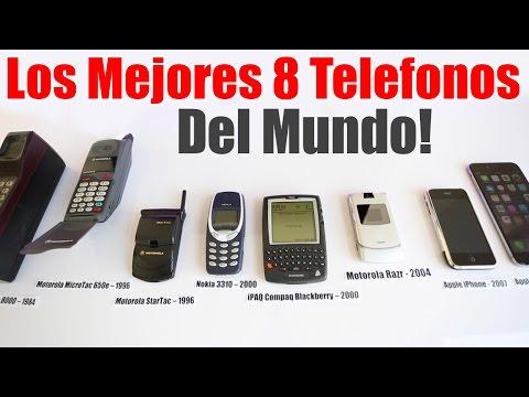 Los Mejores Teléfonos Del Mundo - Mejores Celulares de todos los tiempos