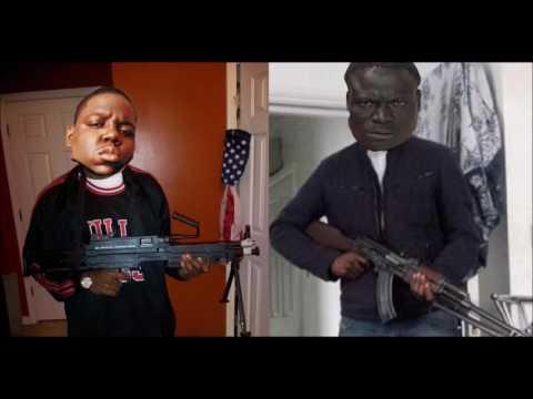 Crazy Black Gangsta and Black Guy put in work