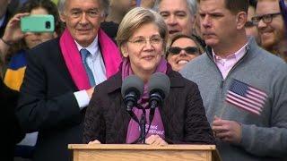Elizabeth Warren  We're here to fight back