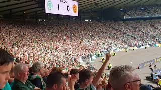 Celtic Fans singing - You can shove the Royal Wedding