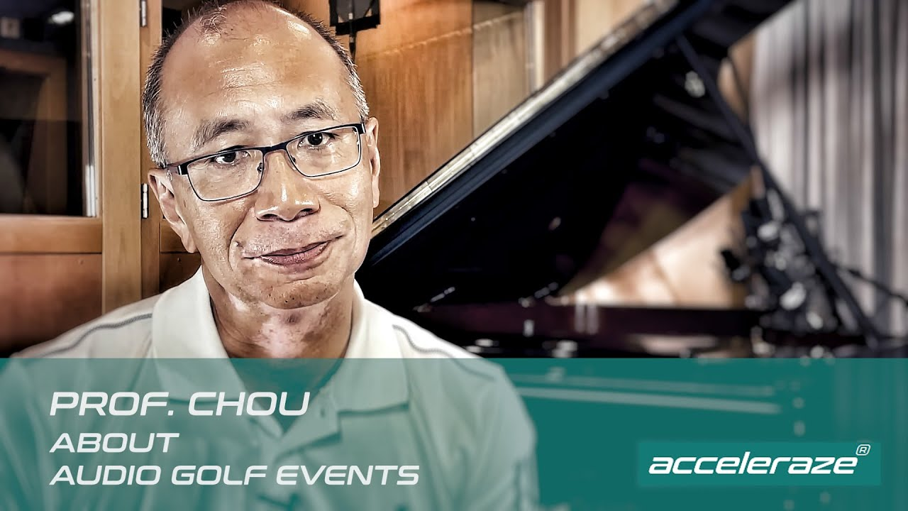 Prof. Chou about Audio Golf Events
