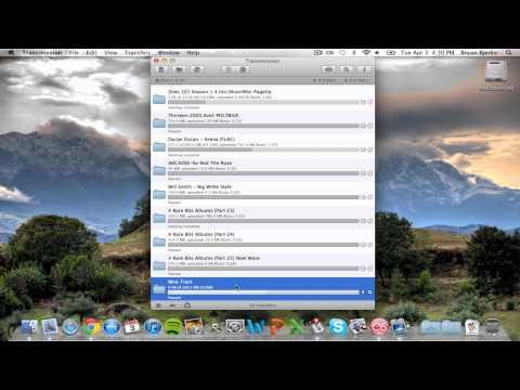 Transmission (Best Torrent Client For Mac) - 2012