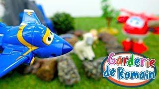 Vidéo en français pour enfants du Jardin d'enfants № 35: les Super Wings