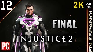 "Injusticie 2  (Historia) #12 ""Poder Absoluto"" FINAL  Superman 