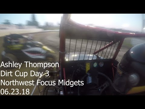 Ashley Thompson Dirt Cup Day Three - at Skagit Speedway 06.23.18