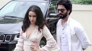 LIVE Shraddha Kapoor Arrives With & Shahid Kapoor At Batti Gul Meter Chalu Trailer Launch