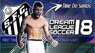 Time do Santos para Dream League Soccer 2018