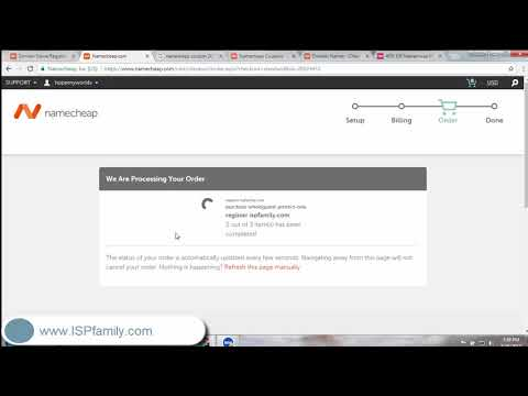 Buy Domain and Hosting Nancheap With Promo Code  - Part 1 - ISPfamily com