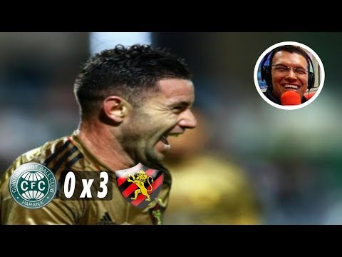 Coritiba 0 x 3 Sport - Narração: Aroldo Costa, Rádio Jornal 10/07/2017
