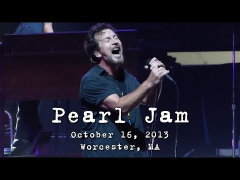 Pearl Jam: 2013-10-16 - DCU Center; Worcester, MA (Complete Show) [HD60p]