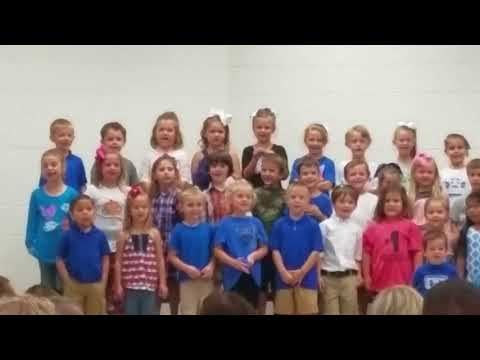 Skylar' s 1st audition at Trion Elementary School(2)