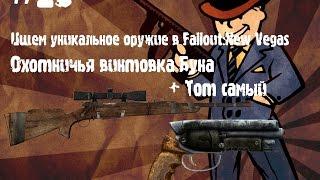 Ищем уникальное оружие в Fallout NV - Тот самый and Винтовка Буна