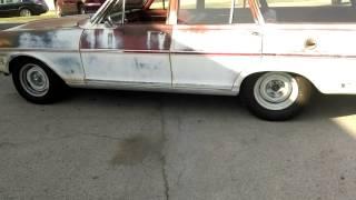 Chevy II exhaust cutouts
