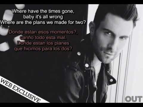 Maroon 5 - Payphone ft. Wiz Khalifa (Lyrics español - ingles)