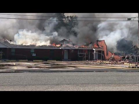 Texas News - Fire destroys Texas City church