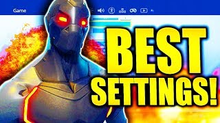 BEST FORTNITE CONSOLE SETTINGS PS4/XBOX SEASON 4 FORTNITE BEST CONSOLE SETTINGS!