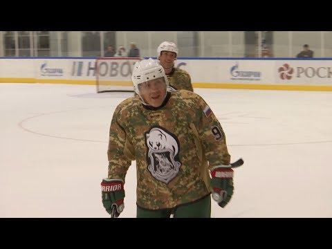 Команда Минниханова выиграла хоккейный матч на форуме в Сочи