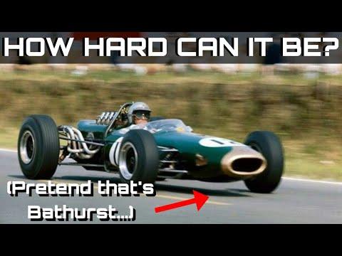 Repeat 60s F1 CARS TAKE ON BATHURST! Brabham BT20 Race at Mt