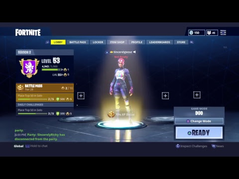Sincerely Gang Plays Fortnite