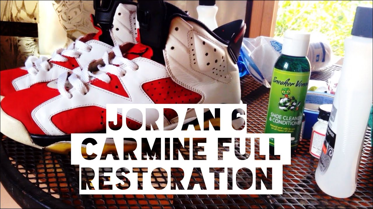 Restoration shoes jordan 4