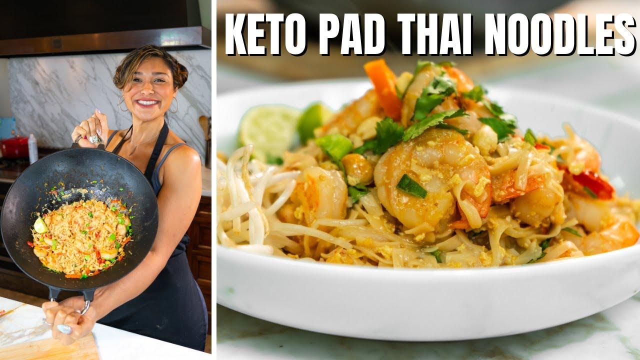 KETO PAD THAI! How to Make Keto Pad Thai Recipe