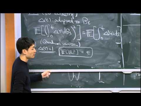 18. Itō Calculus