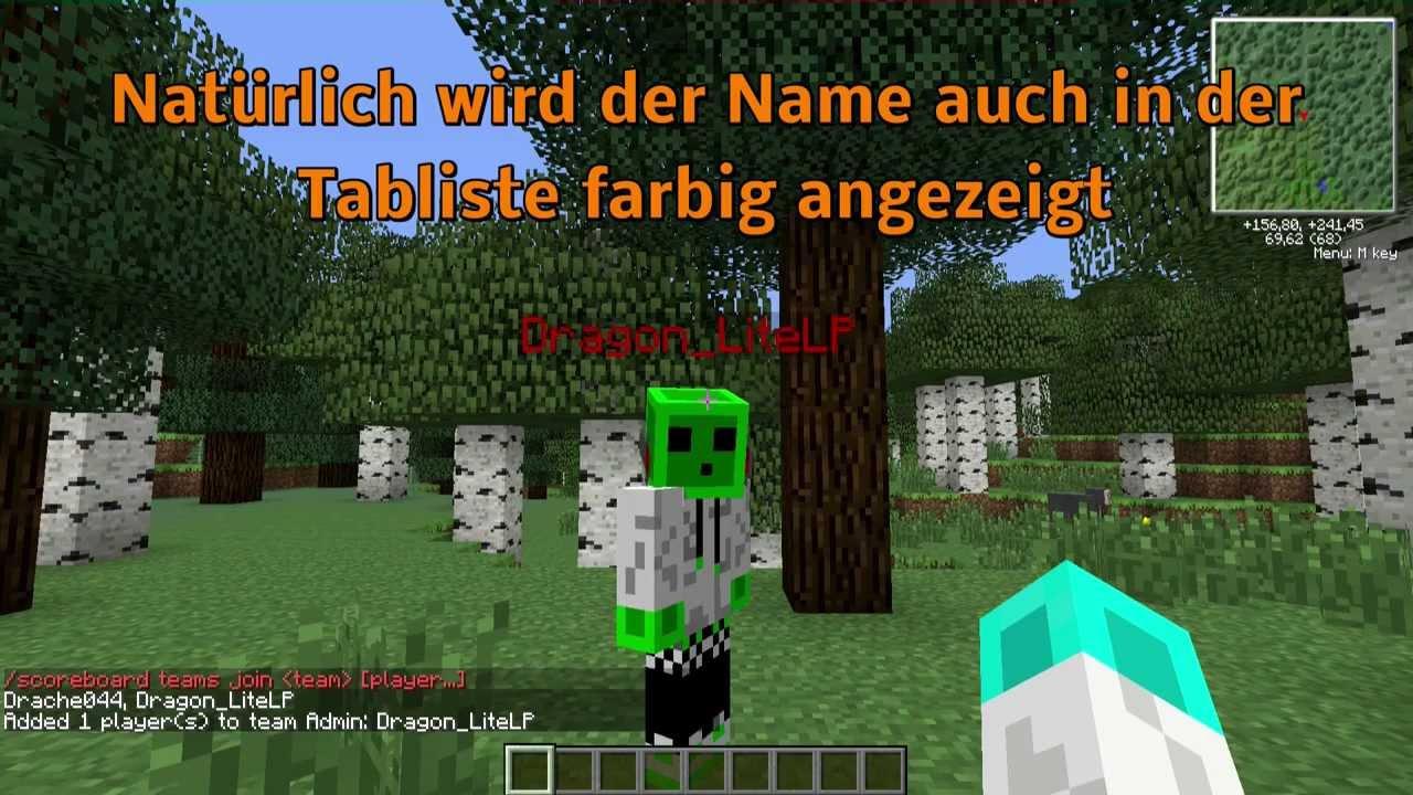 Minecraft Spielen Deutsch Minecraft Namen Ndern Himgames Bild - Minecraft namen andern himgames