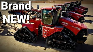 We drove over 2000HP of AFS CONNECT STEIGERS!|Behind the scenes CASE IH testing grounds