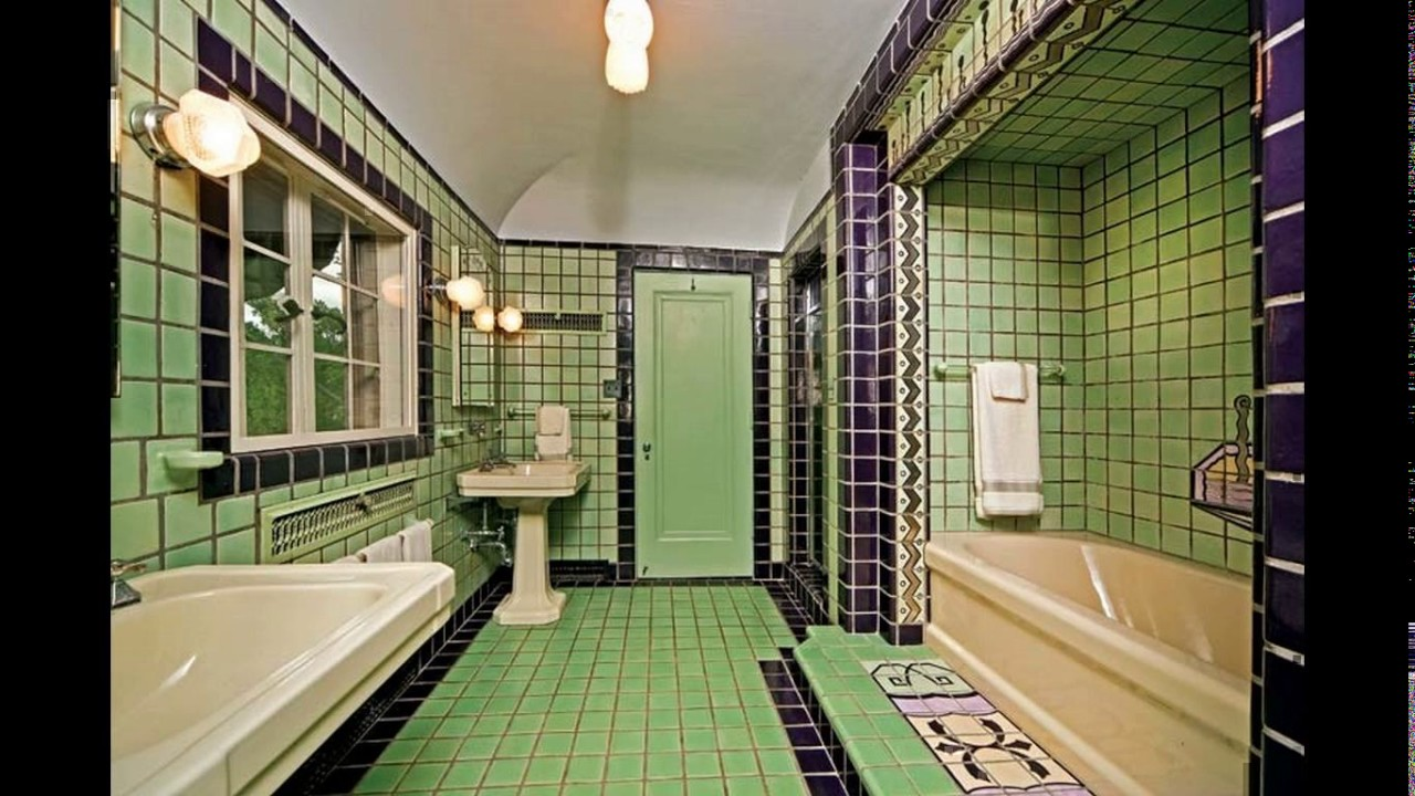 Art Deco Bathroom Art Deco Bathroom Tile Design