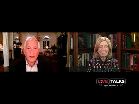 "Walter Isaacson with Doris Kearns Goodwin on the ""scientific method of thought,"" at Live Talks LA"