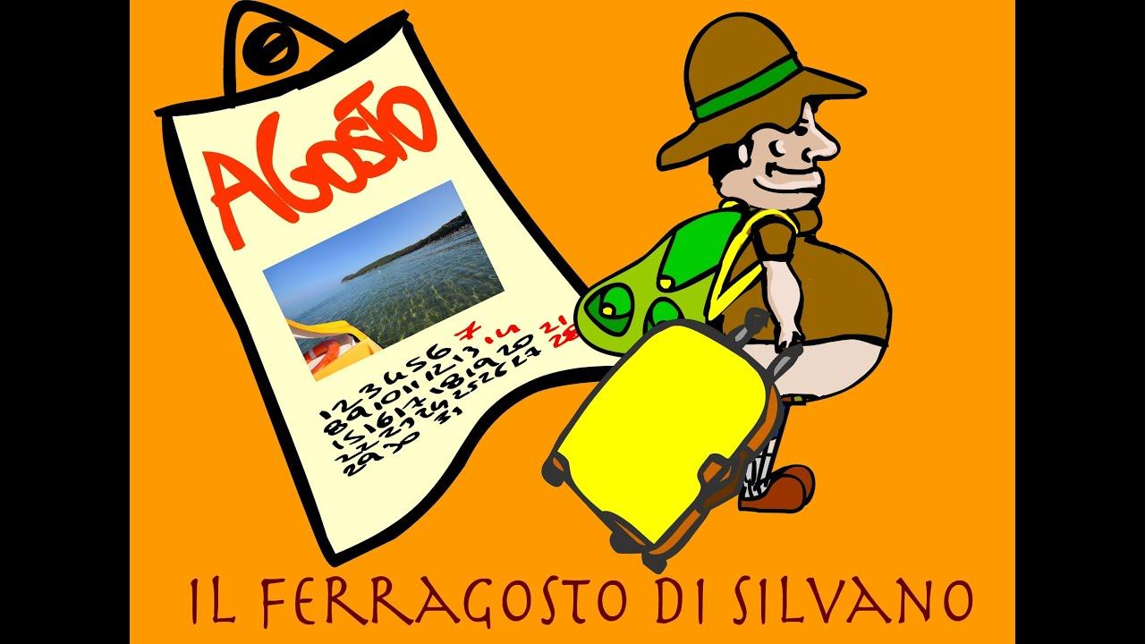 Amato Filastrocca - Il Ferragosto di Silvano - Auguri di Buon Ferragosto  YK61
